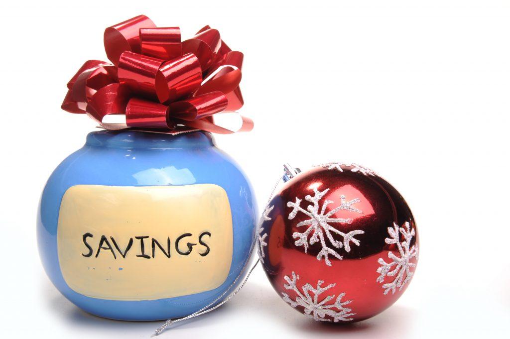 Christmas savings account
