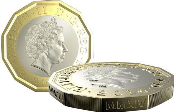 New £1 royal mint