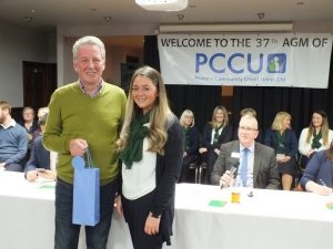 Councillor Mark Townsend & PCCU Jodie Bastable