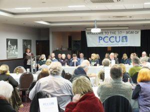 Julie Cooper MP at PCCU 37th AGM