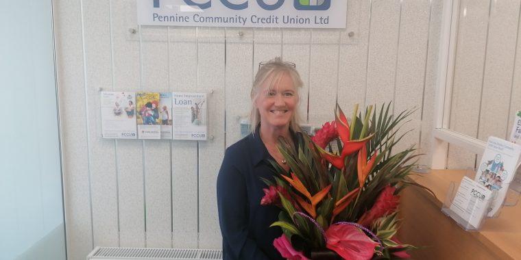 PCCU celebrate Lynne's 10 years